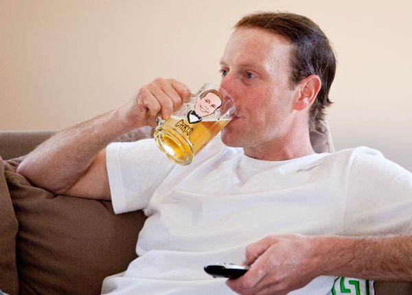 "Dads love beer and they like themselves. Therefore, the only thing your dad likes more than a mug of beer would be<a href=""ht"