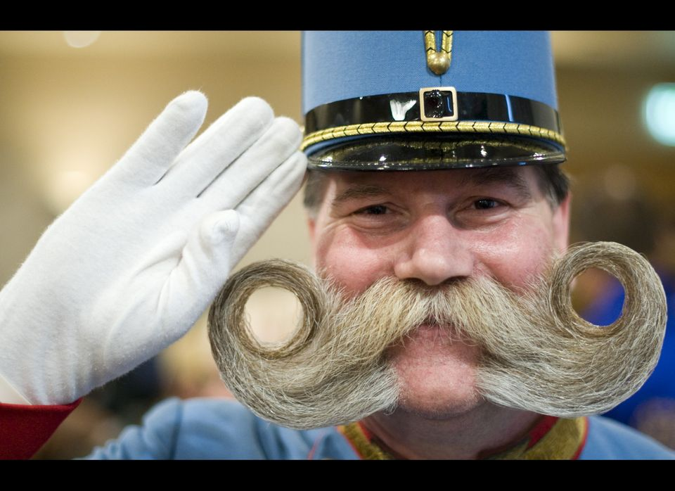 More than 163 contestants from 15 different countries participated in the 2011 World Beard and Moustache Championships in Tro