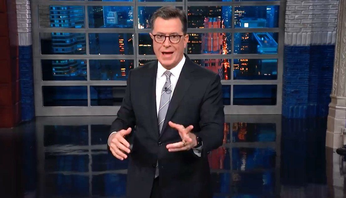 Colbert Hits Brett Kavanaugh With The 2 Words That Could Haunt Him