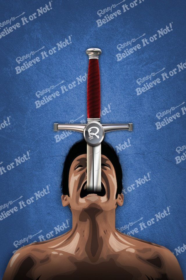 iSword, Worlds First Sword Swallowing App, To Be