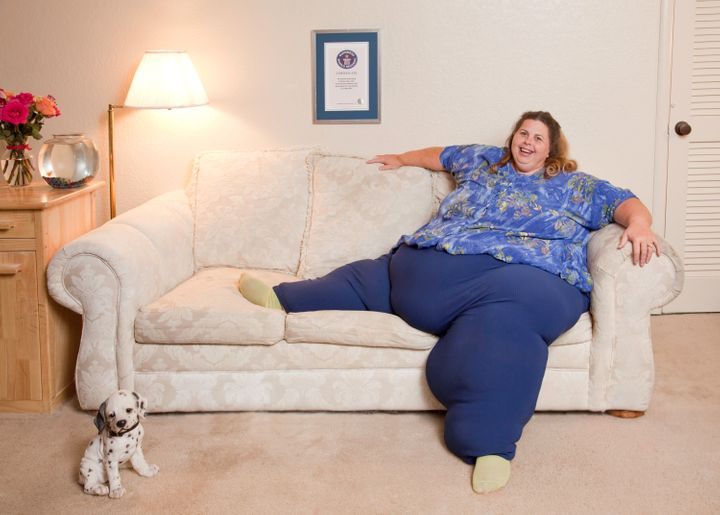 Pauline Potter Crowned Guinness World Records' Heaviest ...
