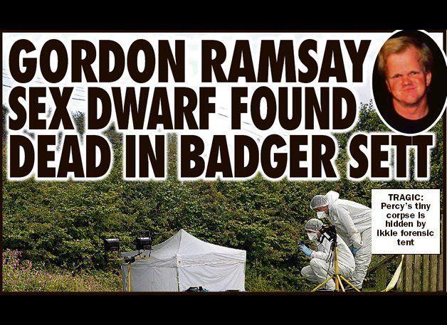 Percy Foster Dead Dwarf Gordon Ramsay Look A Like Reportedly Found