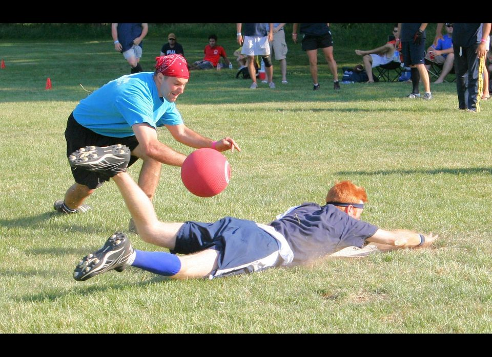 This weekend, kickball fans are focusing their attention towards Las Vegas, the site of the 14th Annual World Kickball Champi