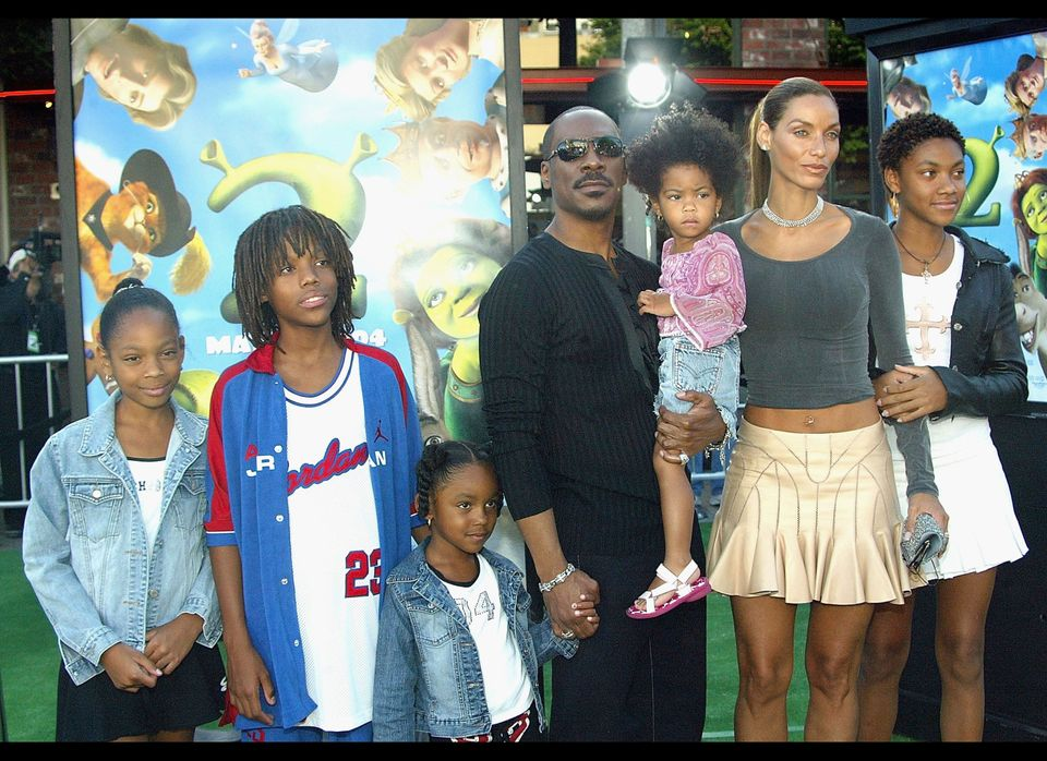 Eddie Murphy's eight offspring include daughters Bria, Zola, Shayne, Bella and Angel Iris Murphy Brown (whose mom is ex-girlf