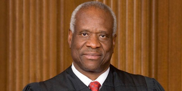 Supreme Court Justice Clarence Thomas. (The Collection of the Supreme Court of the United States/MCT via Getty Images)