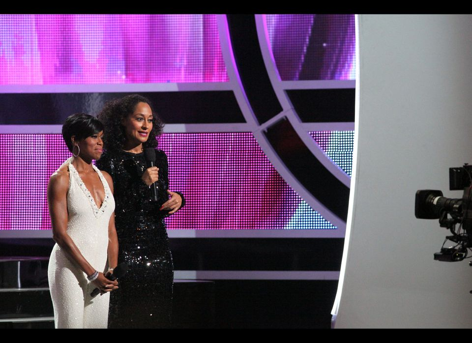 Hosts Regina King and Tracee Ellis Ross