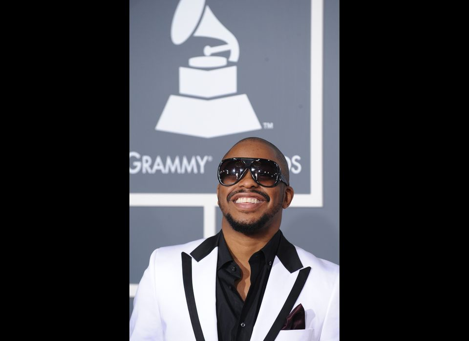 Raheem DeVaughn arrives for the 53rd Annual Grammy Awards at the Staples Center in Los Angeles, Calif., February 13, 2011.  P