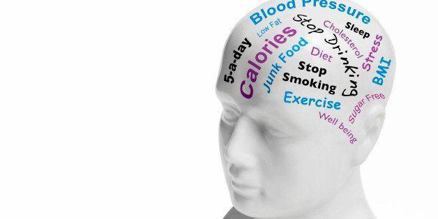 Good health/wellbeing phrenology head