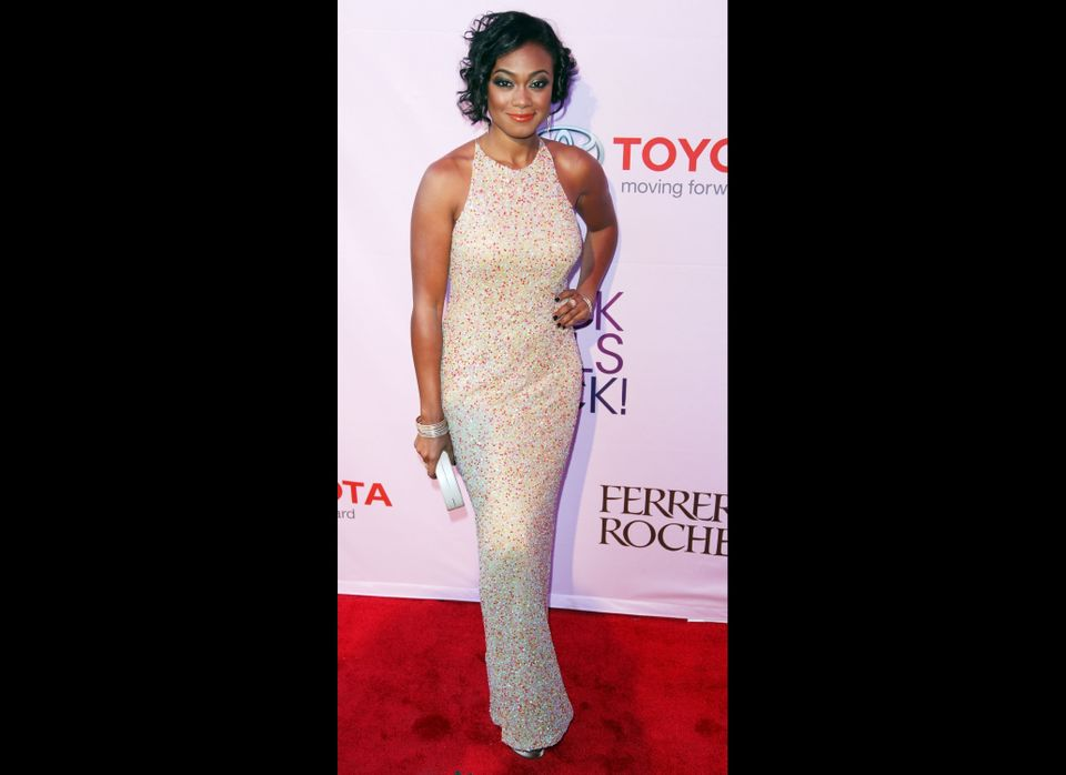 NEW YORK, NY - OCTOBER 15:  Actress Tatyana Ali attends Black Girls Rock! 2011 at the Paradise Theater on October 15, 2011 in