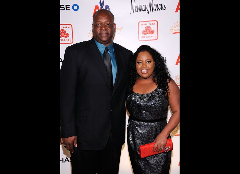 NEW YORK, NY - APRIL 04:  Lamar Sally and TV personality Sherri Shepherd attend the 2nd annual Steve Harvey Foundation Gala a