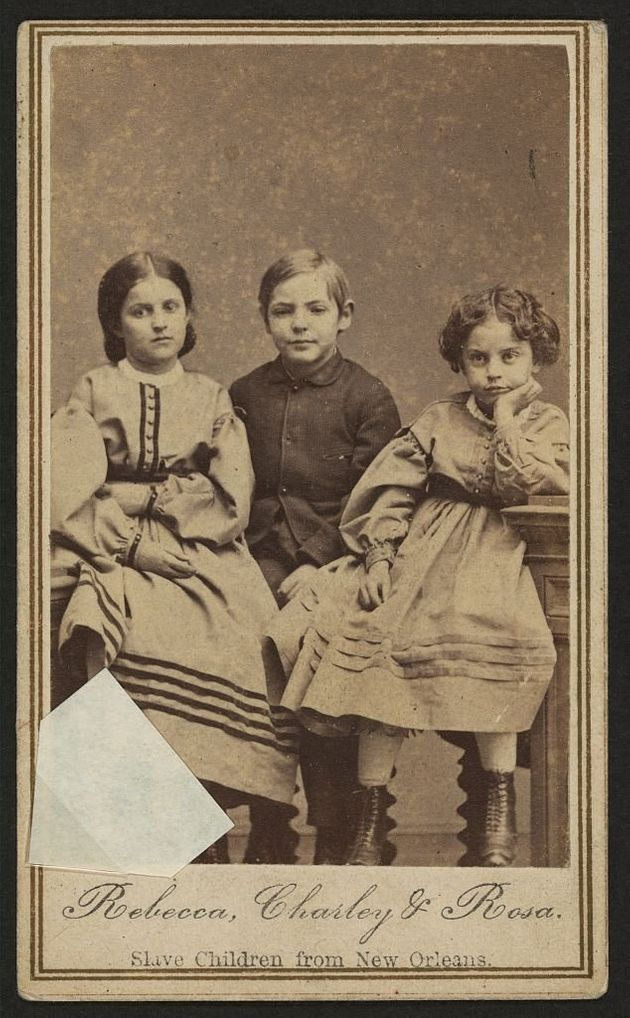 'White' Slave Children Of New Orleans Used In Donation Campaigns In 1860s