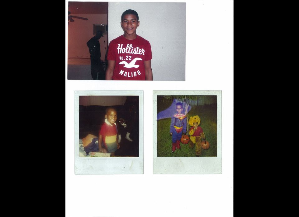 Family photos of Trayvon Martin, 17, of Miami. Martin was shot and killed while visiting family in a gated community near Orl