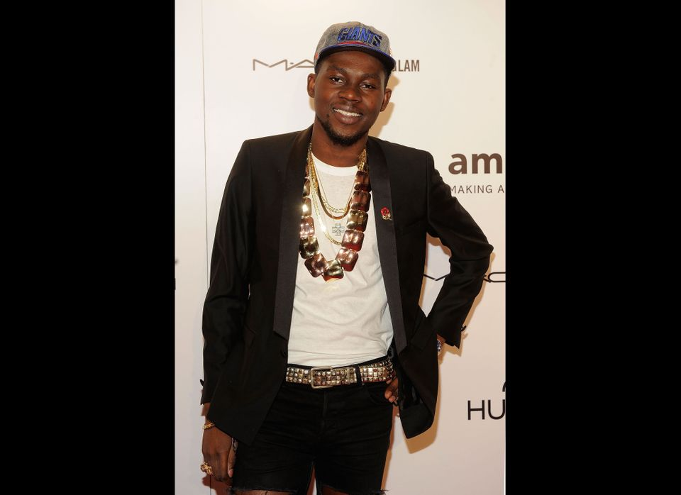 NEW YORK, NY - FEBRUARY 08:  Theophilus London attends the amfAR New York Gala To Kick Off Fall 2012 Fashion Week at Cipriani