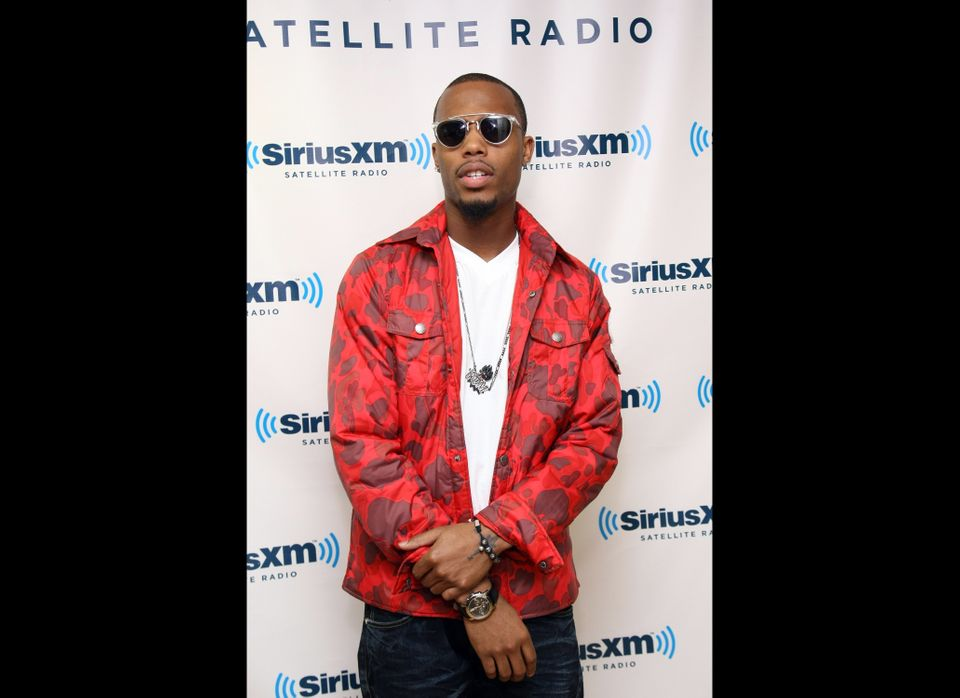 NEW YORK, NY - MARCH 01:  Musician B.O.B visits SiriusXM Studios on March 1, 2012 in New York City.  (Photo by Neilson Barnar