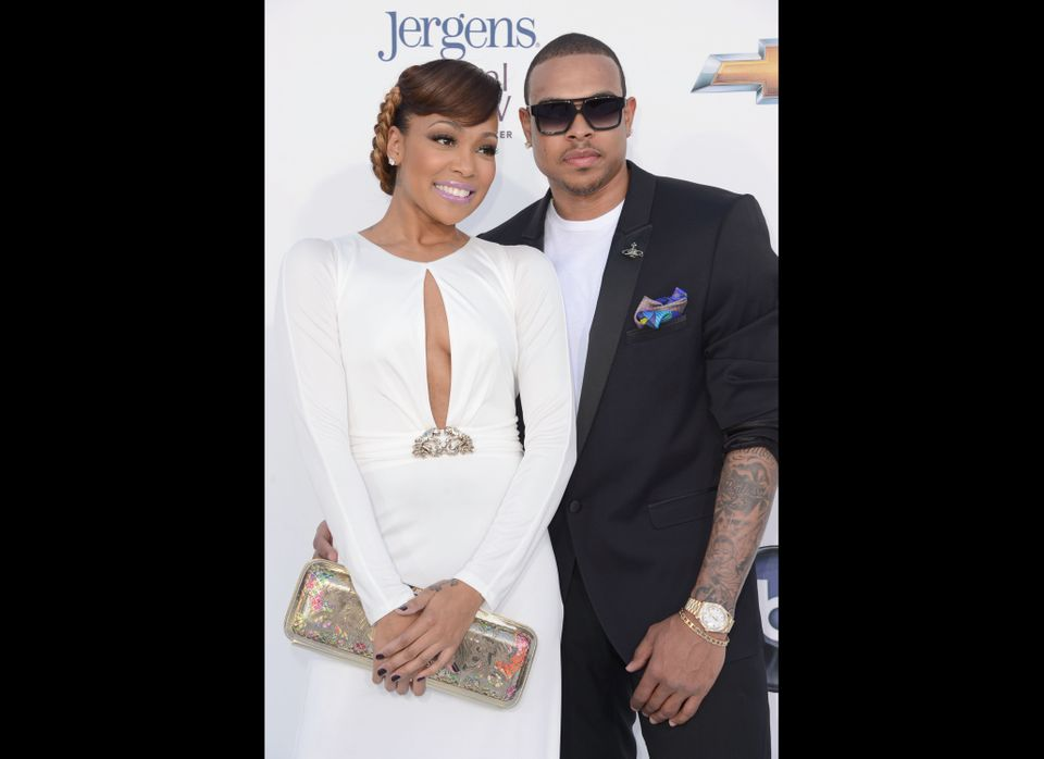 LAS VEGAS, NV - MAY 20:  Singers Monica and Shannon Brown arrive at the 2012 Billboard Music Awards held at the MGM Grand Gar
