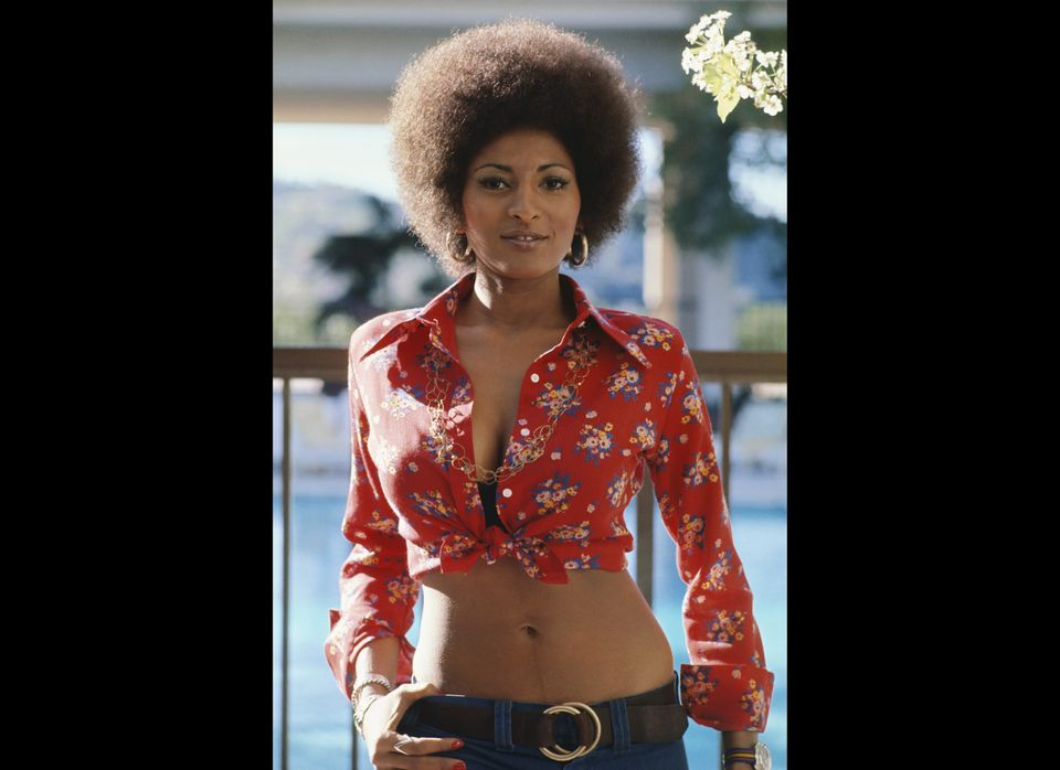 LOS ANGELES - CIRCA 1972: Actress Pam Grier poses for a photo circa 1972 in Los Angeles, California. (Photo by Michael Ochs A