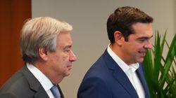 Συγχαρητήρια Γκουτέρες σε Τσίπρα για την συμφωνία