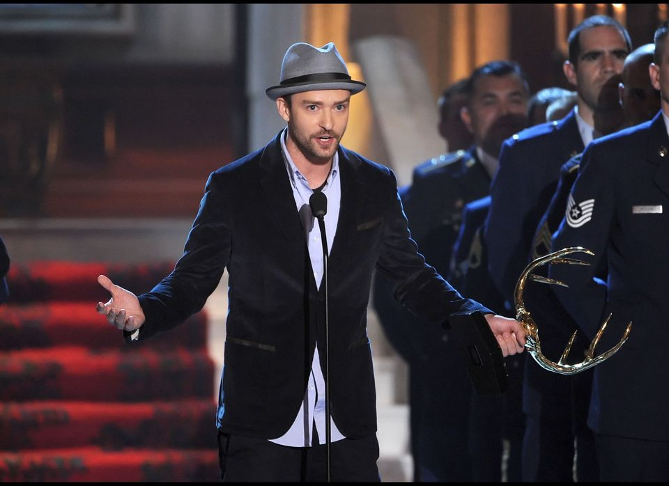 """<strong>Justin Timberlake</strong><br>  For his debut album, """"Justified,"""" Timberlake enlisted hip-hop producers Timbaland a"""