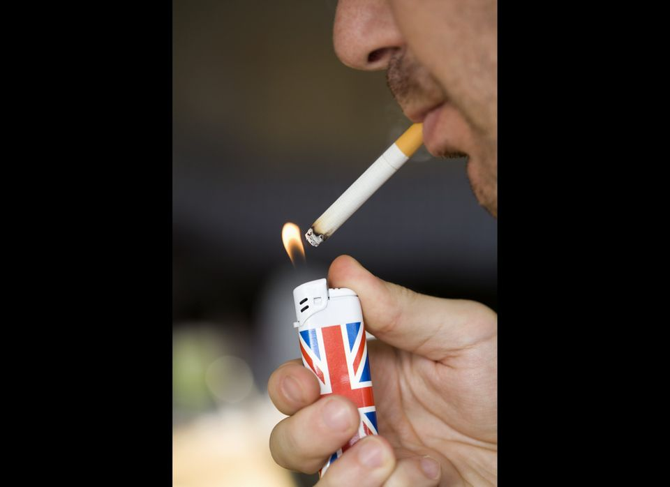 Smoking is, hands down, the worst thing you can do to your lungs on a regular basis.  There's no safe threshold when it com