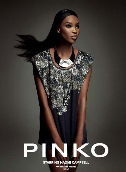 new product 84efb 05619 Naomi Campbell Strikes A Pose For The Pinko Fall 2012 Ad ...