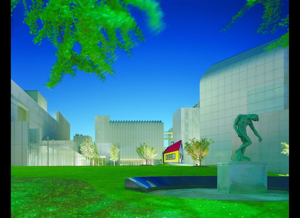 Known as one of the premiere art museums in the world, the High Museum is a splendidly designed structure that offers an impe