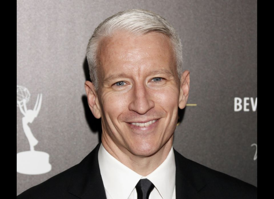 "Long rumored to be gay, CNN news anchor and talk show host Anderson Cooper came out in July of 2012 via an email <a href=""htt"