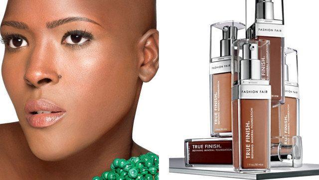 Fashion Fair Cosmetics Launches First Ever Mineral Liquid Foundation