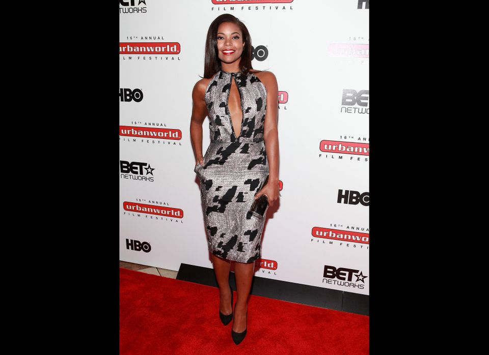NEW YORK, NY - SEPTEMBER 20: Actress Gabrielle Union attends Urbanworld Film Festival: 'Being Mary Jane' at AMC Loews 34th St