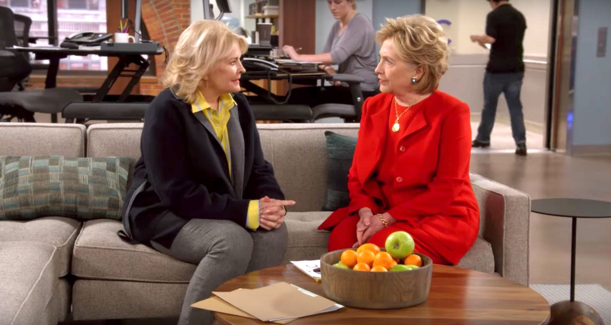 Hillary Clinton on Murphy Brown
