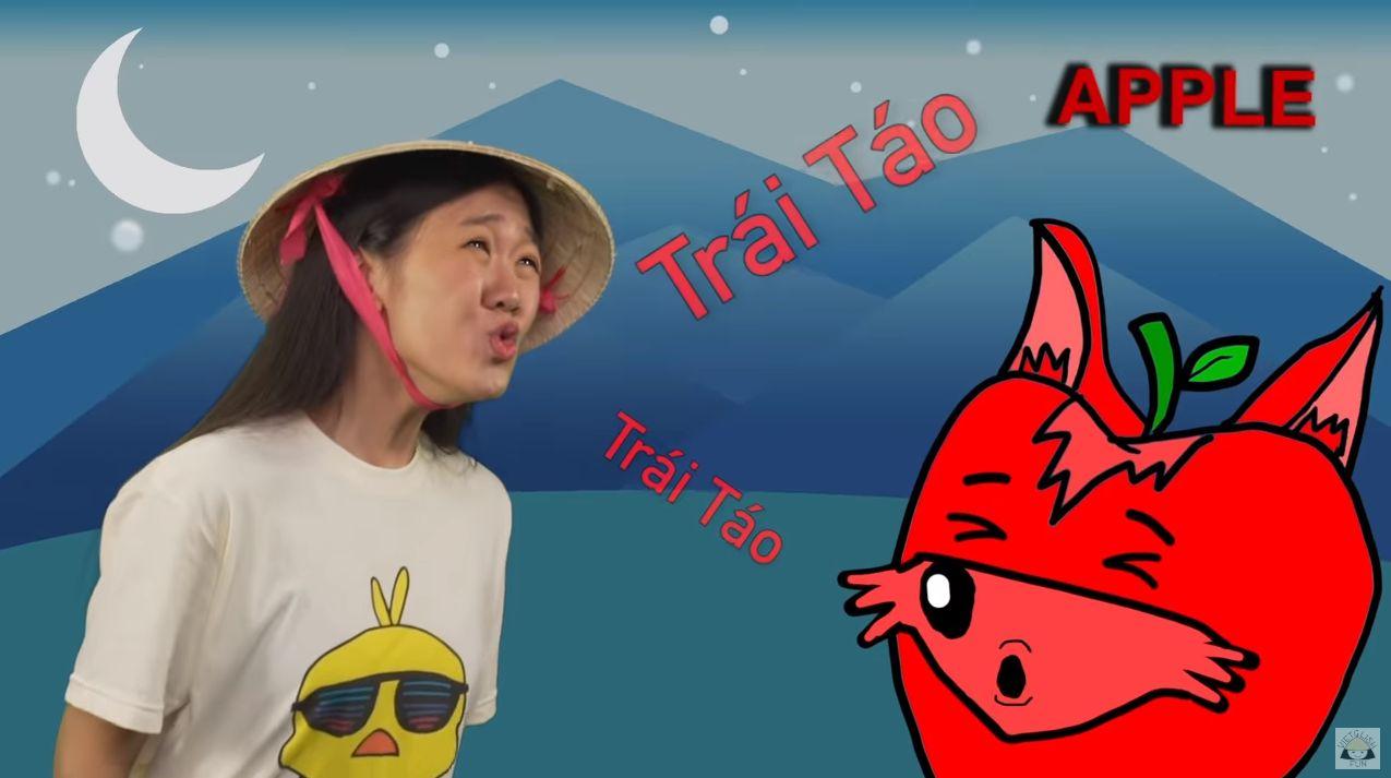 '베트남어로 과일 이름 말하기' 영상이 불러온 귀여운