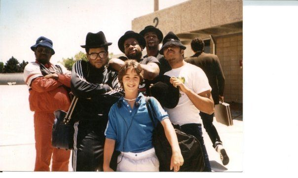Run DMC and Scratch Music Group co-founder Rob Principe (at age 12)