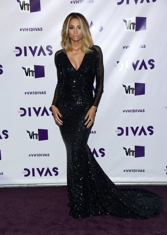 LOS ANGELES, CA - DECEMBER 16:  Singer Ciara attends 'VH1 Divas' 2012 at The Shrine Auditorium on December 16, 2012 in Los An
