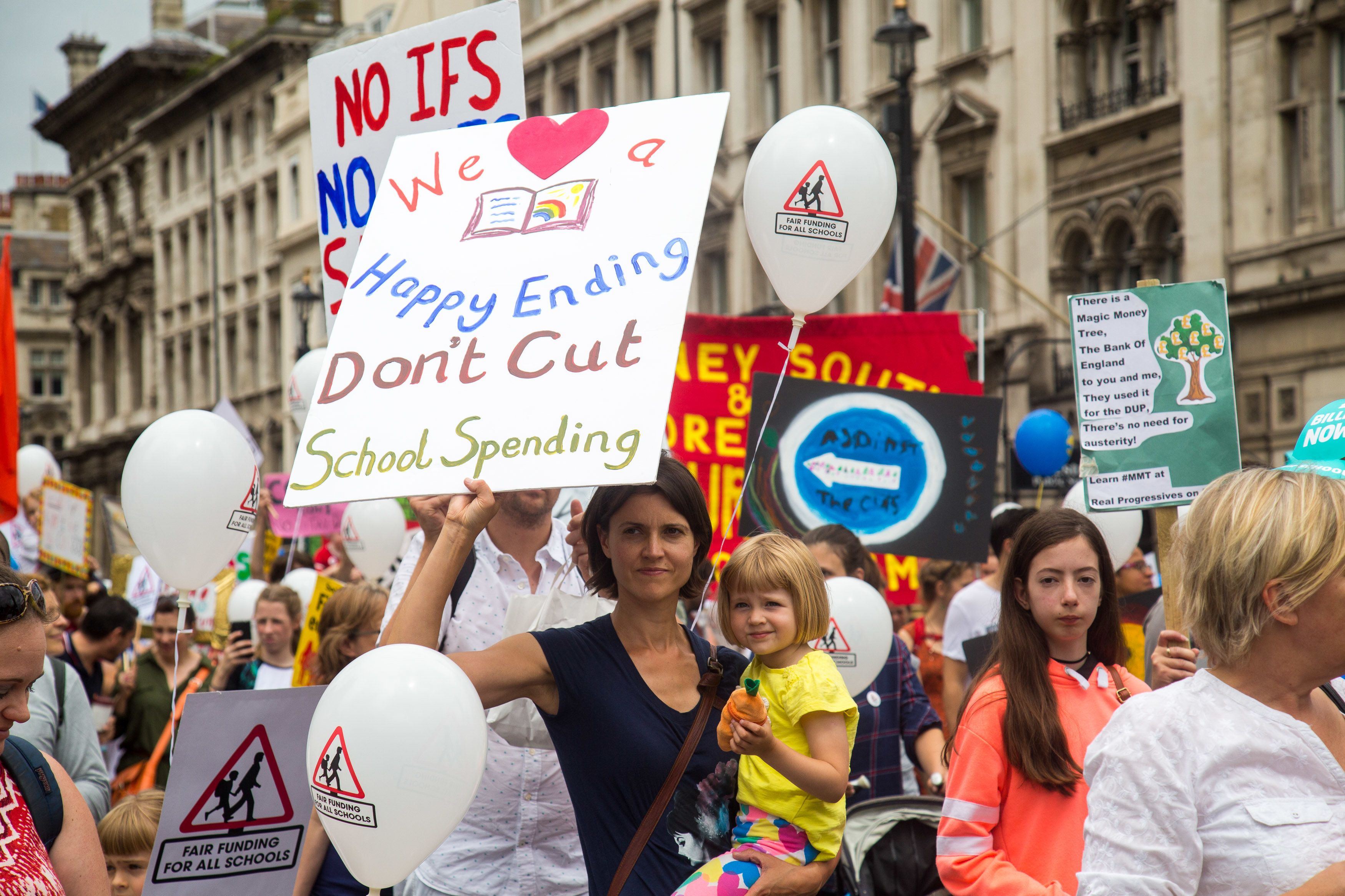 Thousands Of Headteachers Have Marched To Downing Street – Here's
