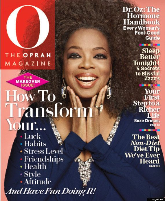 "Oprah Winfrey debuts natural hair on the September 2012 cover of O magazine. Read the story <a href=""https://www.huffpost.com"