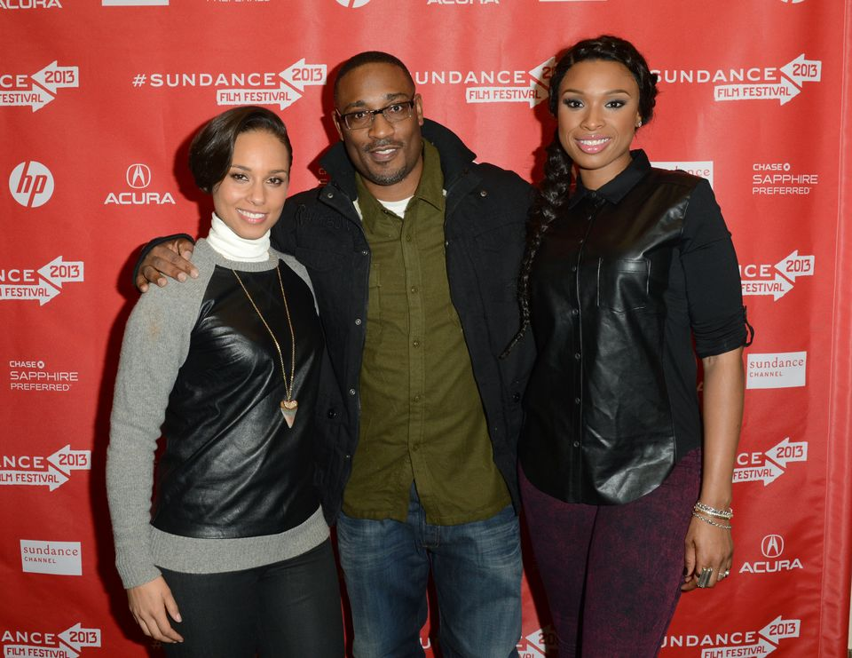 PARK CITY, UT - JANUARY 17:  (L-R) Singer Alicia Keys making a surprise appearance, director George Tillman Jr. and actress/s