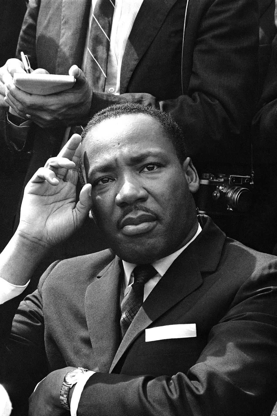 Martin Luther King Jr. was christened Michael King Jr. When his father became pastor of Ebenezer Baptist Church in 1931, he a