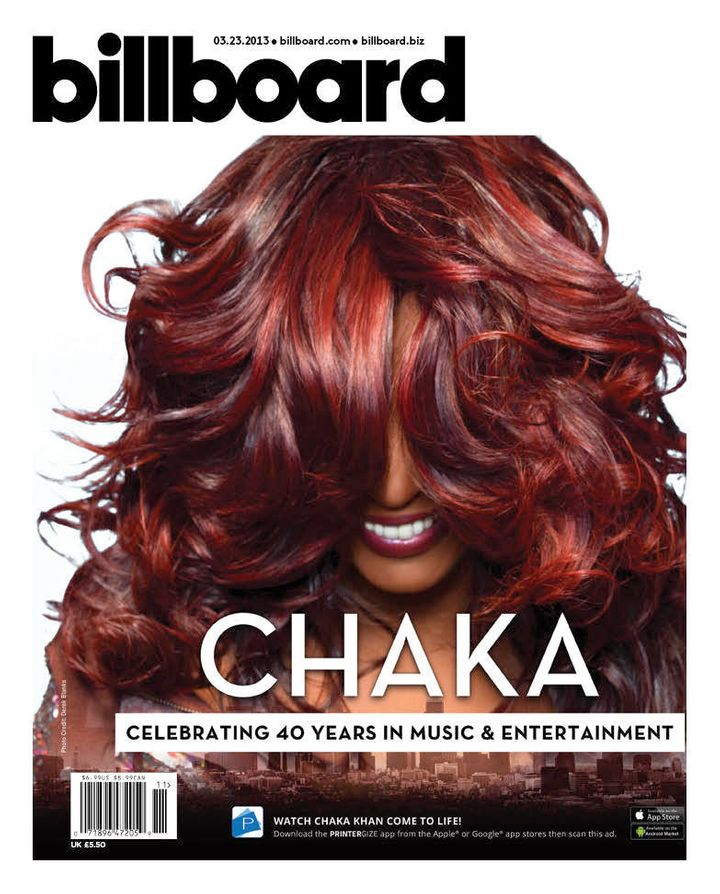 Chaka Khan Billboard Magazine Cover: Icon Is The Face Of