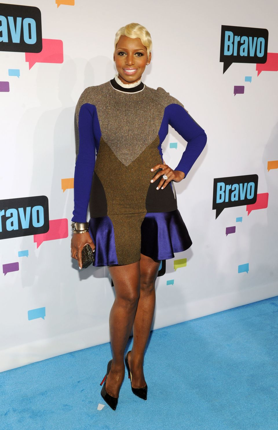 NEW YORK, NY - APRIL 03:  NeNe Leakes attends the 2013 Bravo New York Upfront at Pillars 37 Studios on April 3, 2013 in New Y