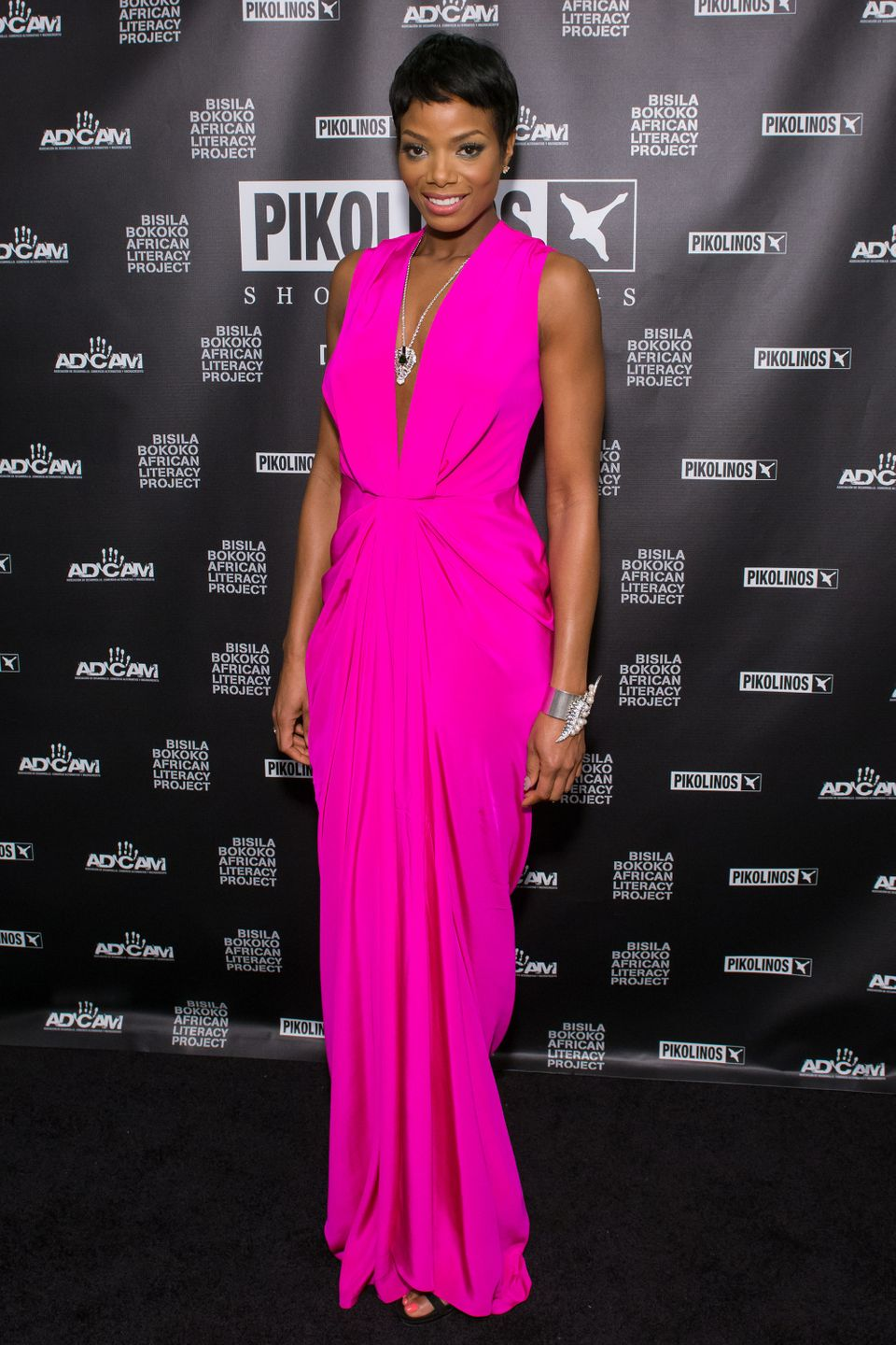 NEW YORK, NY - APRIL 17: Tai Beauchamp attends the 2013 Pikolinos Gala Dinner at the United Nations on April 17, 2013 in New