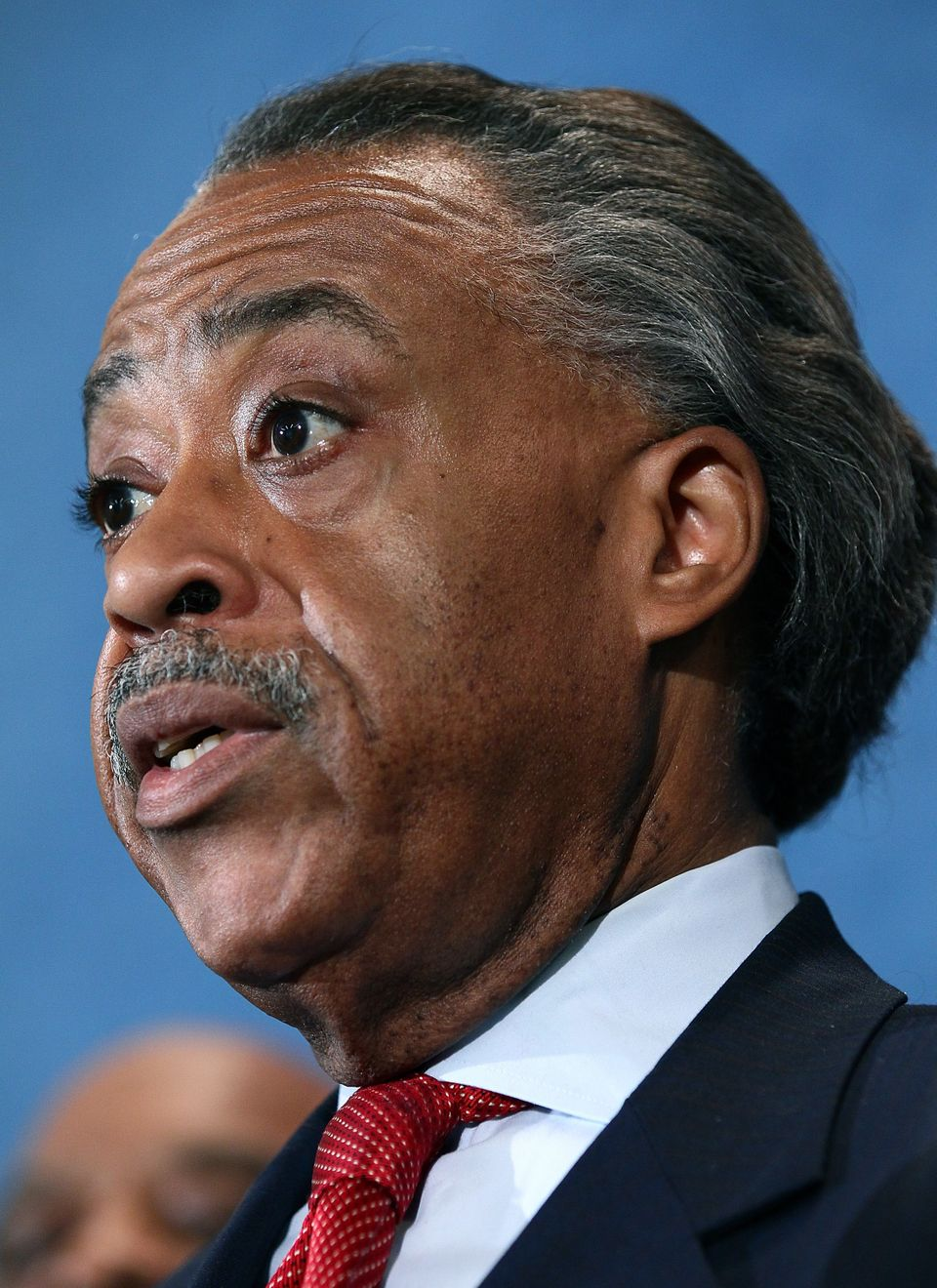 WASHINGTON, DC - SEPTEMBER 28:  Rev. Al Sharpton holds a press conference at the National Press Club September 27, 2011 in Wa