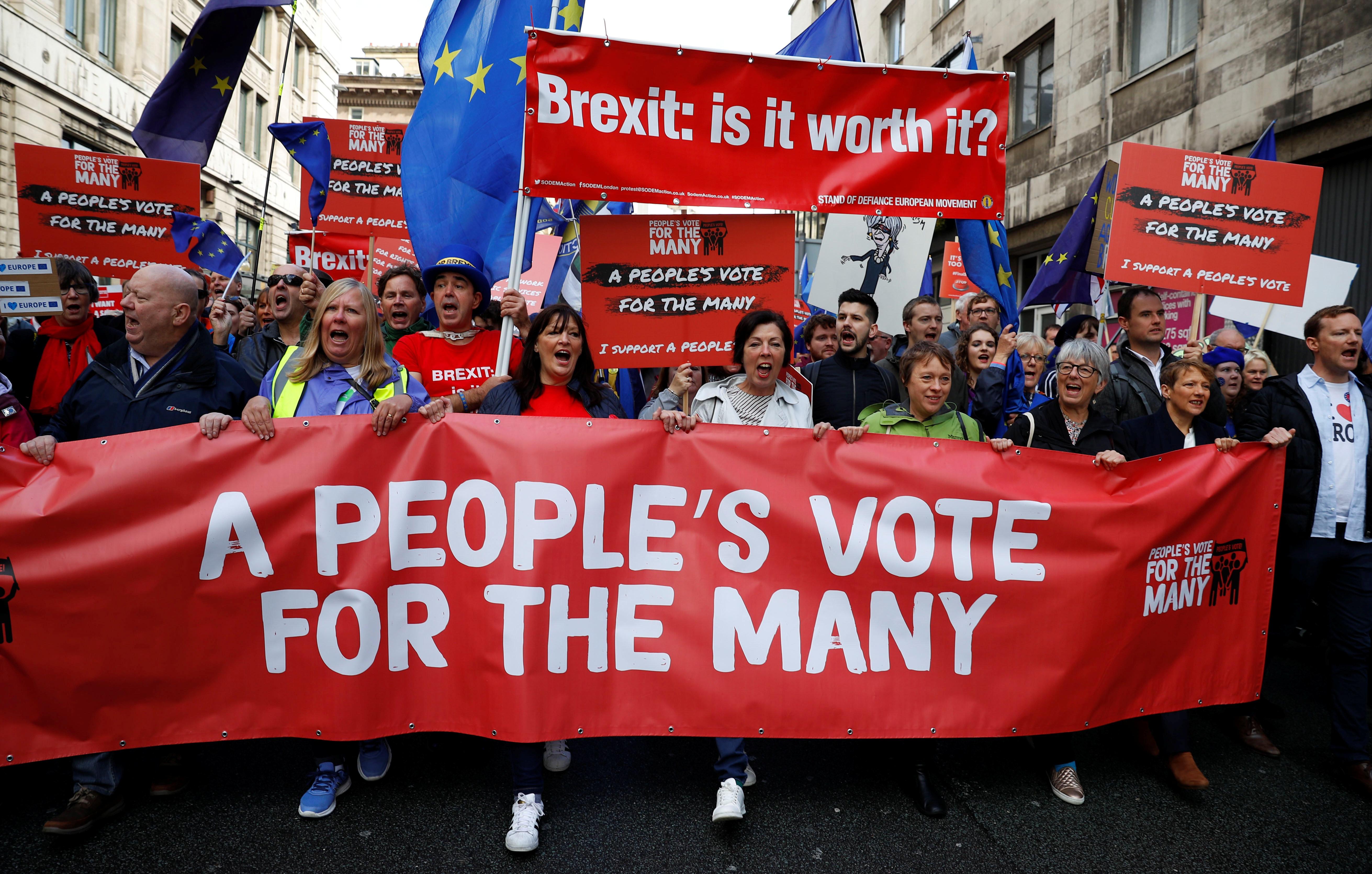 영국 브렉시트 2차 국민투표 가능성은 얼마나 될까?