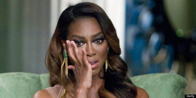 THE REAL HOUSEWIVES OF ATLANTA -- 'Season 5 Reunion' Episodes 521, 522, 523 -- Pictured: Kenya Moore -- (Photo by: Wilford Ha