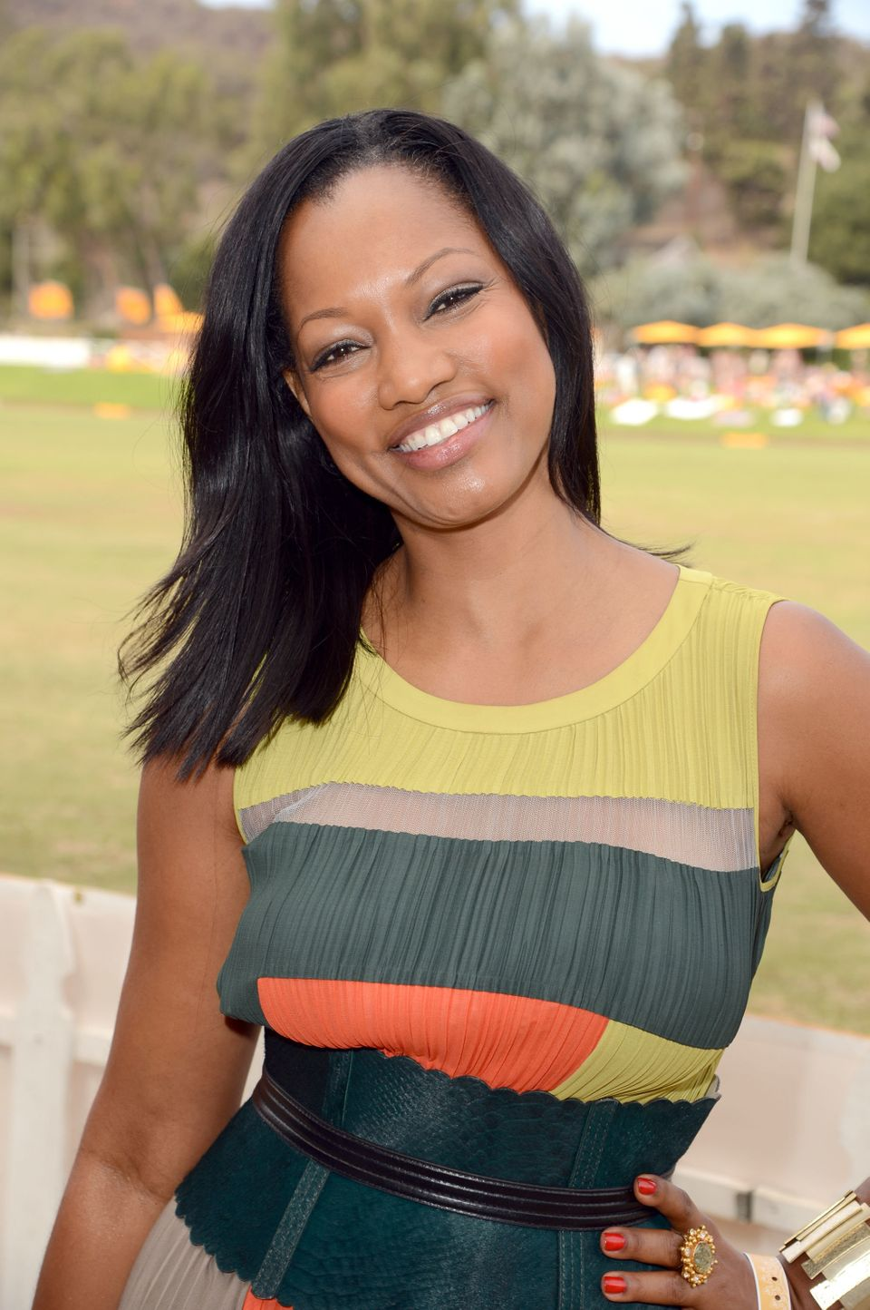 PACIFIC PALISADES, CA - OCTOBER 06:  Actress Garcelle Beauvais attends the Third Annual Veuve Clicquot Polo Classic at Will R