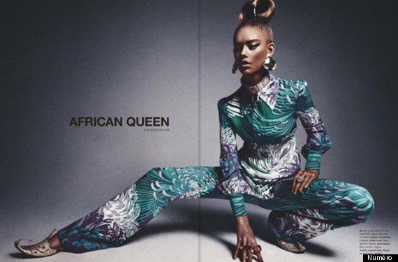 """<a href=""""https://www.huffpost.com/entry/numero-magazine-african-queen_n_2761374"""" target=""""_blank"""">Numéro Magazine 'African Que"""