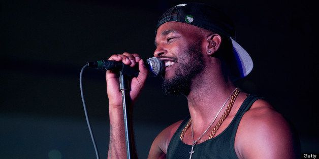 NEW ORLEANS, LA - JULY 07:  Luke James performs during the 2013 Essence Festival at the Mercedes-Benz Superdome on July 7, 20