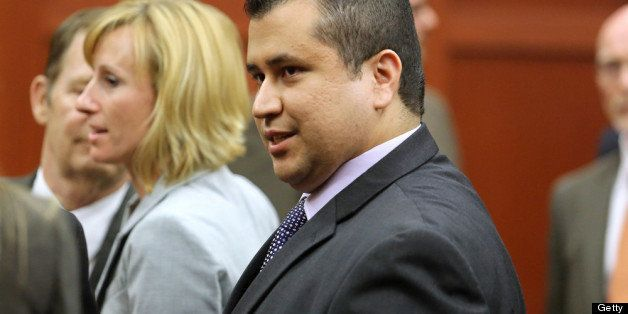 SANFORD, FL - JULY 13:  George Zimmerman leaves the courtroom a free man after being found not guilty, on the 25th day of his