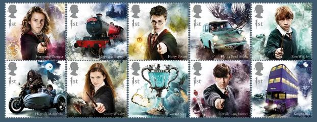 These Harry Potter Stamps Will Make You Want To Send A Letter To Your