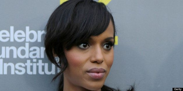 WEST HOLLYWOOD, CA - JUNE 05:  Actress Kerry Washington attends the 3rd annual Celebrate Sundance Institute Los Angeles benef