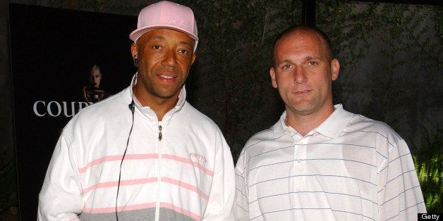 Russell Simmons and Steve Rifkind  (Photo by Jean-Paul Aussenard/WireImage)