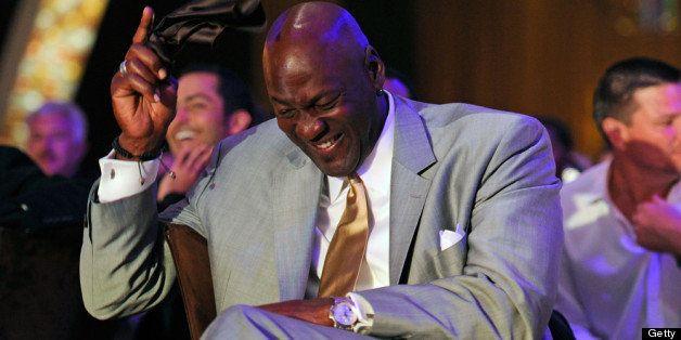LAS VEGAS, NV - MARCH 30:  Charlotte Bobcats owner Michael Jordan attends the 11th annual Michael Jordan Celebrity Invitation